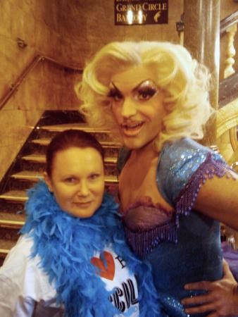 Sarah and Drag Queen small